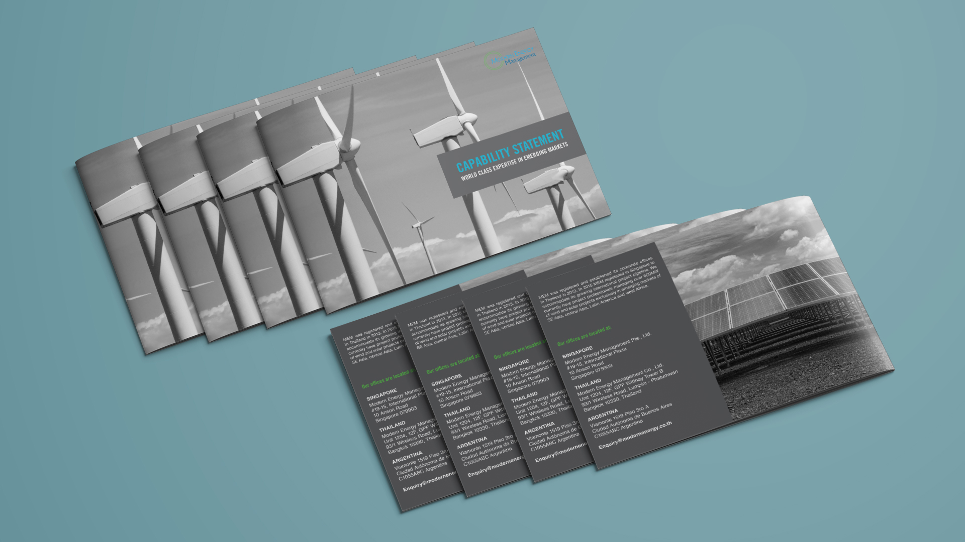 Modern Energy Management PR Brochure